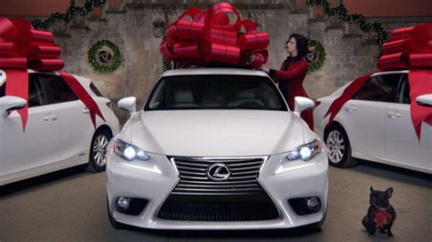 lexus christmas the right way to buy a car as a christmas gift