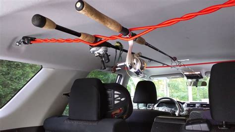 Diy Car Fishing Rod Rack For