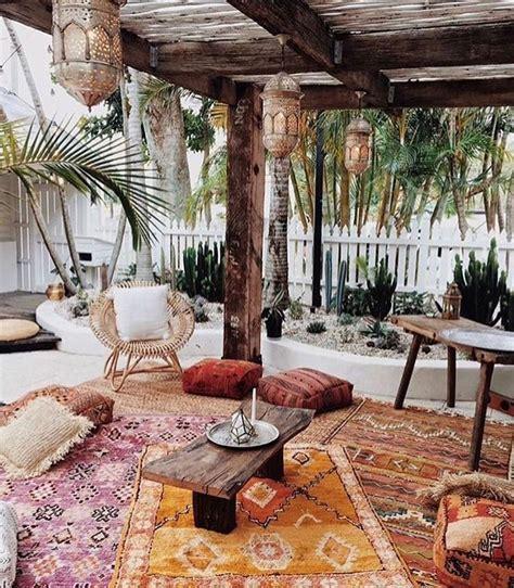 modern boho decor 25 best ideas about bohemian patio on pinterest cozy backyard bohemian porch and bohemian