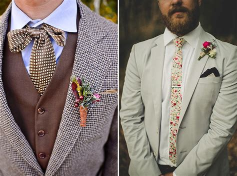 A Vintage-retro Style For The Modern Groom