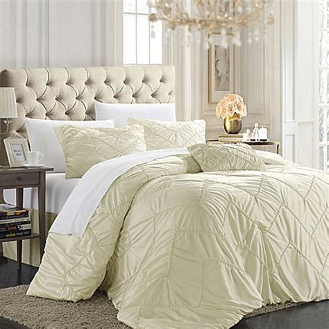 shabby chic bedding bed bath and beyond chic home ella 4 piece duvet cover set bed bath beyond