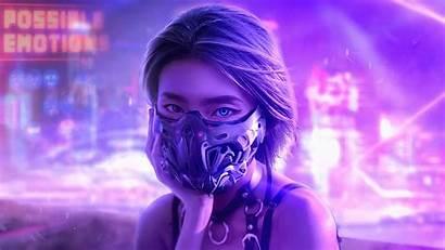 4k Cyberpunk Wallpapers Cyber Eyes Futuristic Ultra