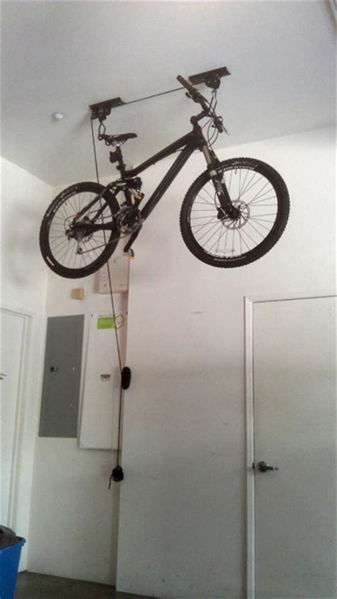 ceiling bike rack etsy ceiling installation project on behance