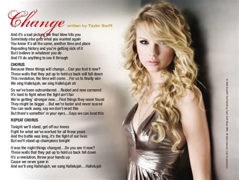 Taylor Swift Booklet - Taylor Swift Album