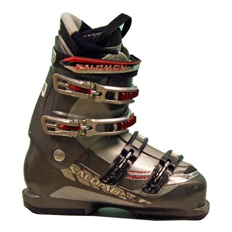 sports ski boots used salomon sport mission ski boots grey