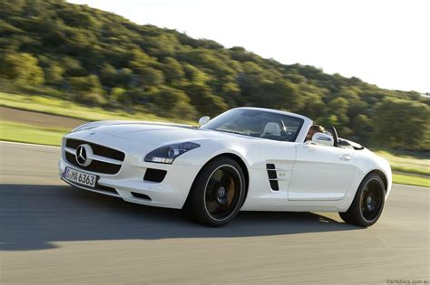 mercedes benz sls amg roadster unveiled  caradvice