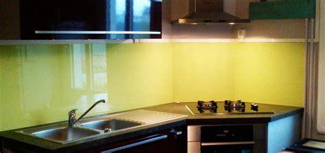 verre credence cuisine crédence en verre personnalisée pour cuisine righetti