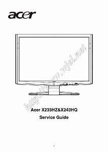 Acer Al512 Service Manual Free Download  Schematics