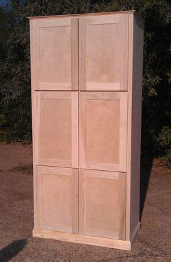 Free Standing Pantry Cabinet by Made Freestanding Pantry Cabinet By Ambassador
