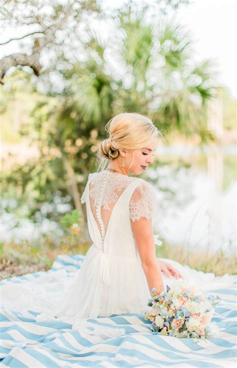 pastel florida wedding inspiration  laytns land