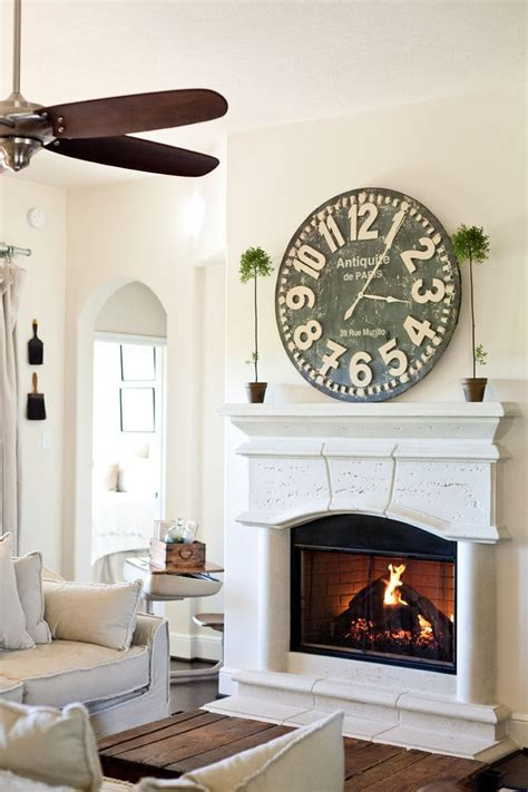 large wall clock decor images  pinterest
