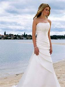 simple beach white wedding dresswedwebtalks wedwebtalks With pictures of beach wedding dresses