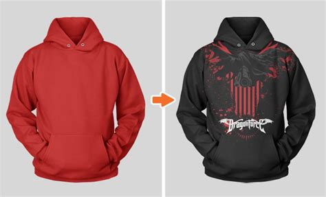 string shirt stringless pullover hoodie mockup template by go media