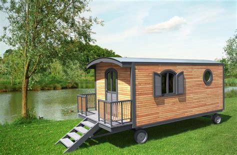 lit mezzanine bureau roulottes en bois sans permis de construire