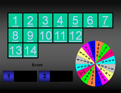 Wheel Of Fortune Powerpoint Template by 10 Power Point Templates Sle Templates