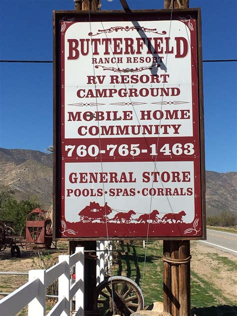 butterfield ranch resort julian california