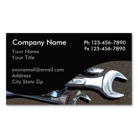 images  auto repair business cards