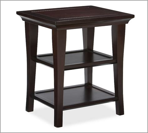 pottery barn tables pottery barn metropolitan side table copycatchic