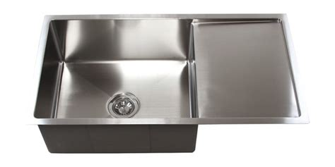 drainboard kitchen sink 36 inch stainless steel undermount single bowl kitchen 3451