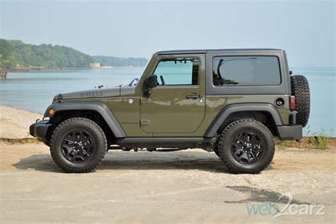 jeep willys 2015 2015 jeep wrangler willys wheeler review web2carz