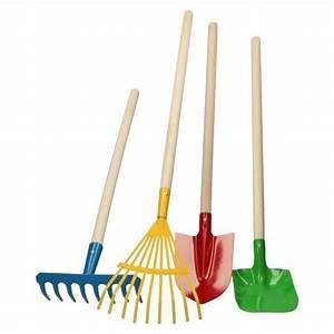 Outil Pour Fendre Le Bois : 4 outils de jardinage pour enfant jeu jouet de jardinier ~ Dailycaller-alerts.com Idées de Décoration