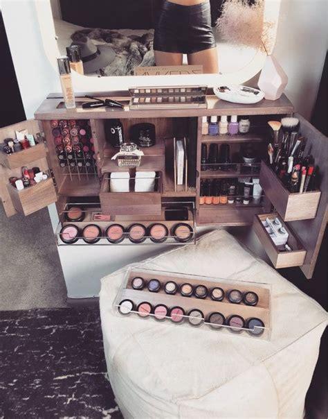 Vanity Makeup Organizer - black wall mounted counter top makeup organizer vanity