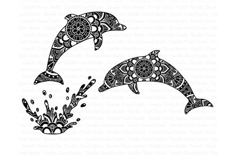 Each of the svg/dxf letter files has six layers. Dolphin Mandala SVG, Zentangle SVG, Mandala Dolphin SVG ...
