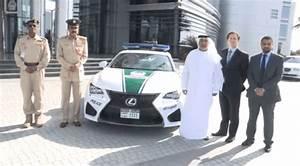 Voiture Police Dubai : la police de dubai s enrichit d une lexus rc f ~ Medecine-chirurgie-esthetiques.com Avis de Voitures