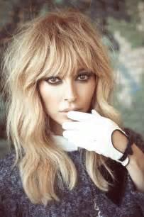Honey Blonde Hair with Bangs