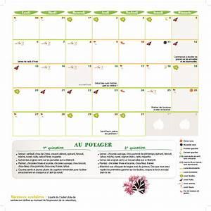 Calendrier Lunaire Jardinage : le calendrier du potager mois par mois jardin t ~ Melissatoandfro.com Idées de Décoration