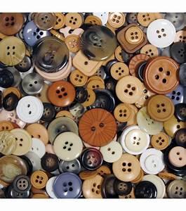 Favorite Findings Big Bag of Buttons-Natural - JoAnn JOANN