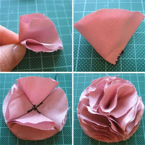 how to make a with cloth how to make fabric flowers