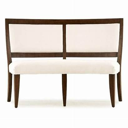 Bench Dining Upholstered Curved Table Benches Round