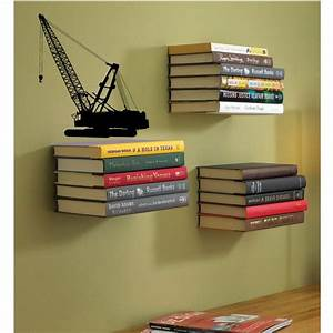 best 25 invisible bookshelf ideas on pinterest With kitchen cabinets lowes with book spine wall art