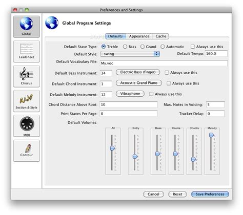 Impro-Visor Mac 9.1 - Download