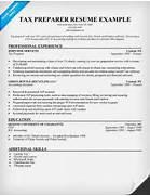 Resume Cover Letter Samples Tax Sample Tax Consultant Resumeg - Tax preparer resume sample
