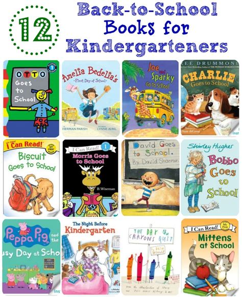 12 Backtoschool Books For Kindergarteners  Simply Being