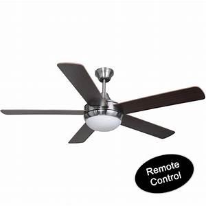 Hardware house ceiling fan satin nickel