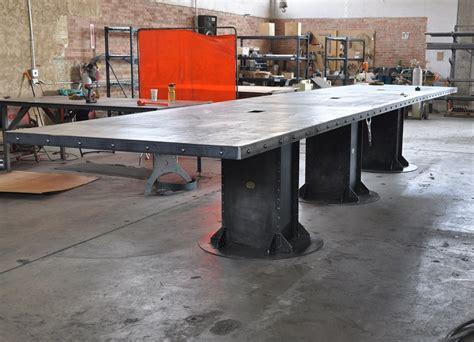vintage industrial conference tables vintage industrial