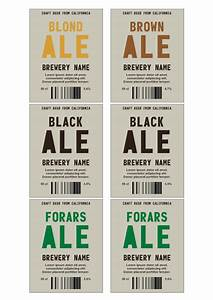 beer label template make your own beer labels With free printable beer labels