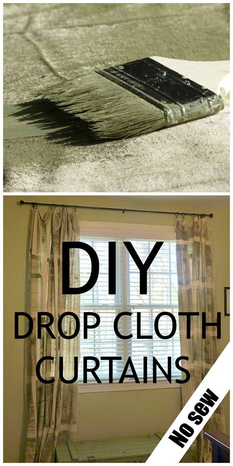 diy painter tarps curtains debbiedoo s