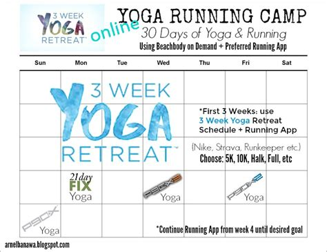 yoga running camp  days arnel banawa