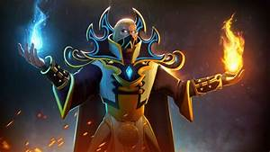 Invoker Magic Fighter Flame Dota 2 Video Game Desktop