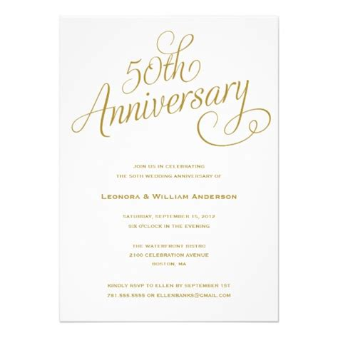 30th wedding anniversary color 50th wedding anniversary invitation superdazzle custom invitations business cards