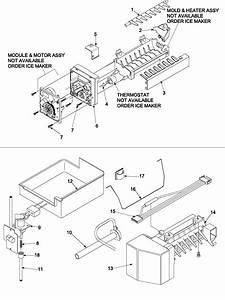 Amana Refrigerator Repair Manual Szde25kpe