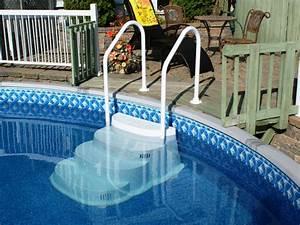 innovaplas the space saver With hauteur marche escalier piscine
