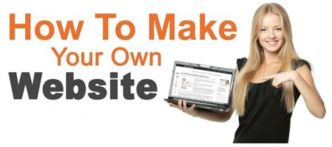 design your own website why you should create your own website