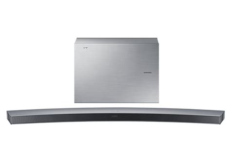 samsung soundbar j6001 curved wireless 6 1 ch 300w uhd tv soundbar silver