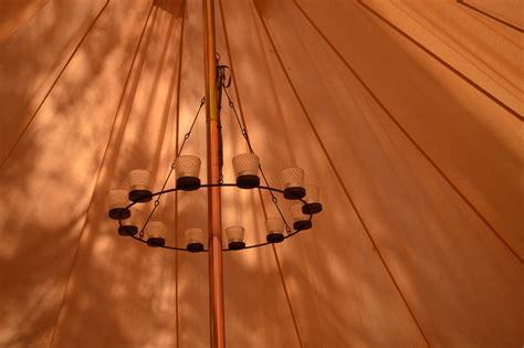 Bell Tent Chandelier by Single Tier Bell Tent Chandelier