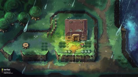 The Legend Of Zelda A Link To The Past Fanart By